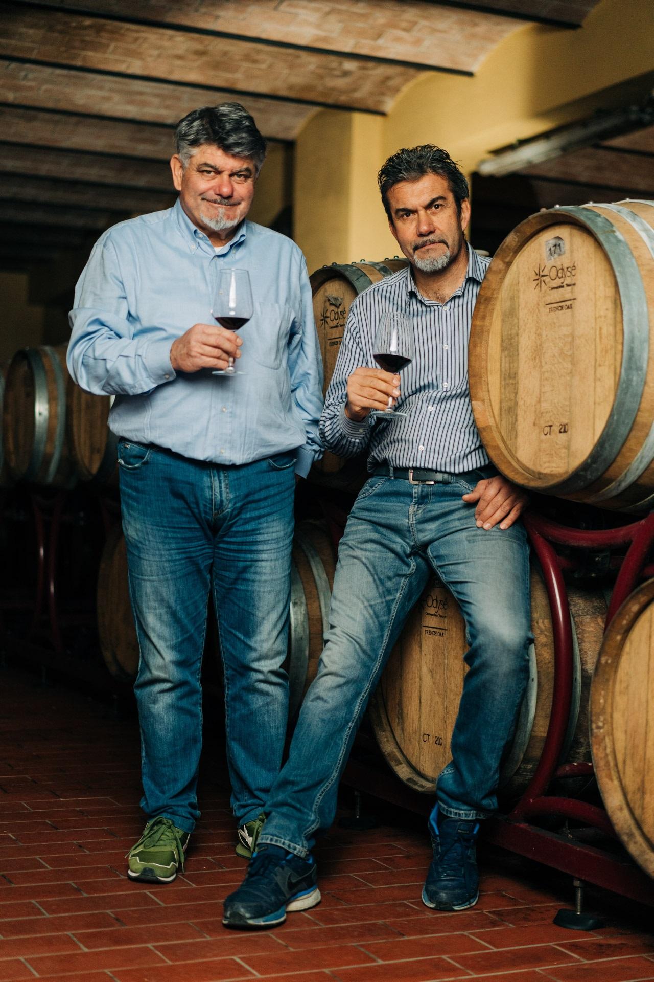 Aleardo e Giuseppe Mantellassi-Bere in Maremma