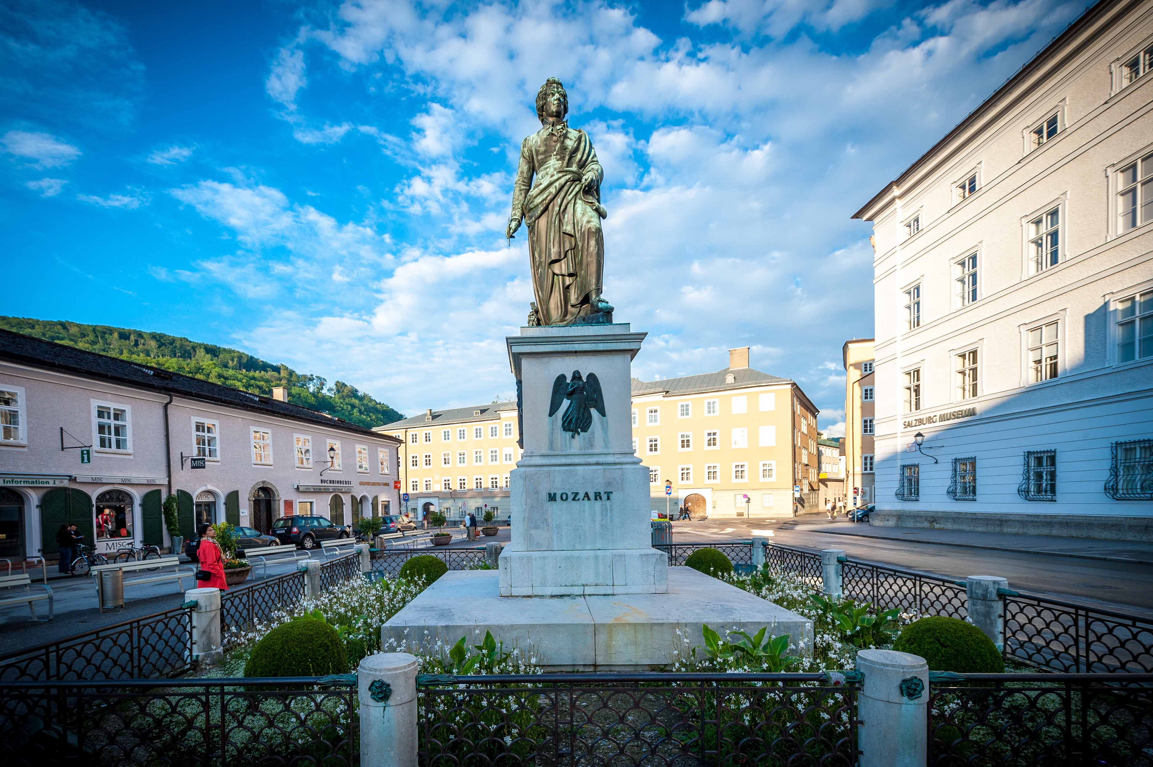 Piazza Mozart-Appuntamenti musicali a Salisburgo
