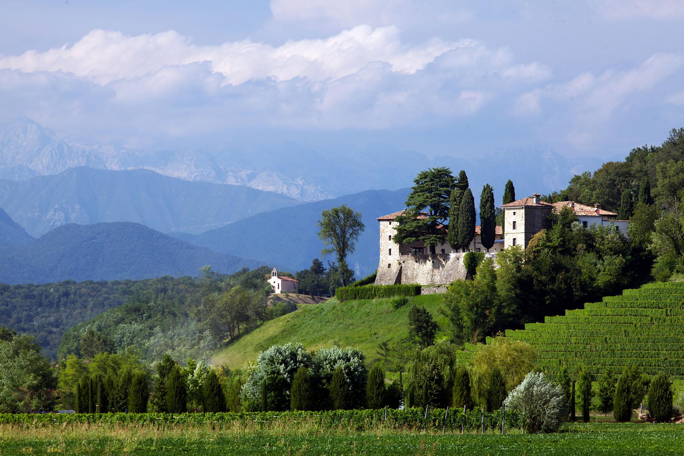 Dolegna del Collio-Castello di Trussio-Foto di Luigi Vitale