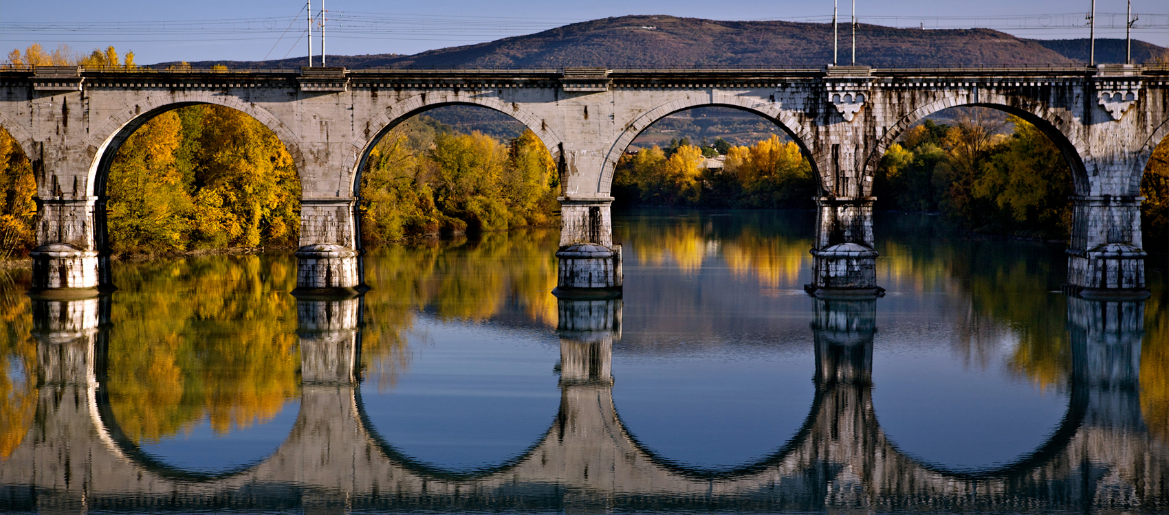 Ponte sul fiume Isonzo-Gorizia©Luigi Vitale-Il fascino del Friuli Venezia Giulia