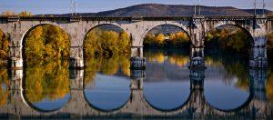 Ponte sul fiume Isonzo-Gorizia©Luigi Vitale