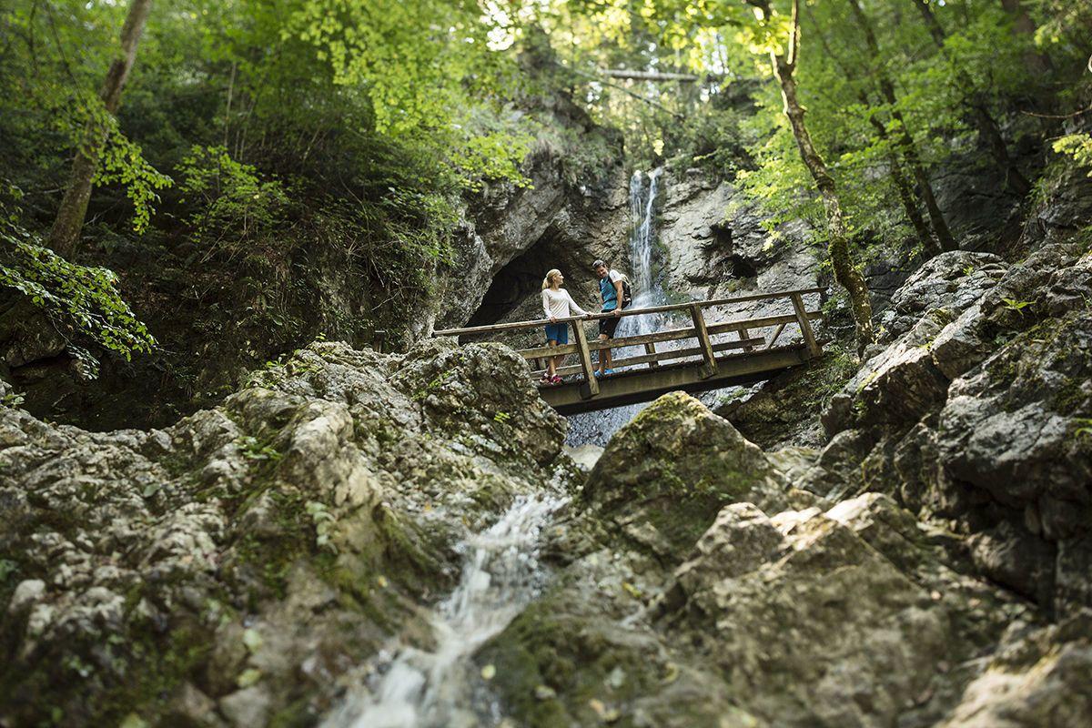 Sentiero delle leggende- Sentiero circolare a Bad- Aering- Kufsteinerland in Tirolo