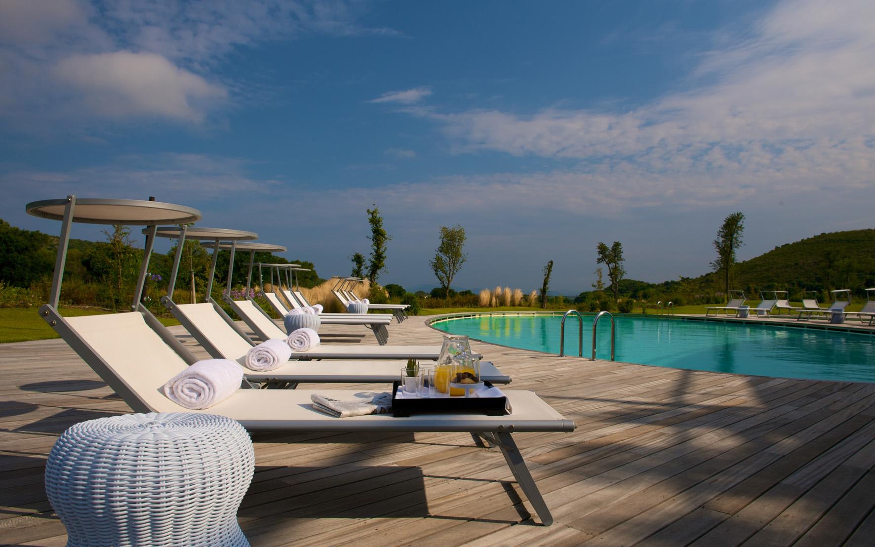 Argenatrio Golf Resort in Toscana