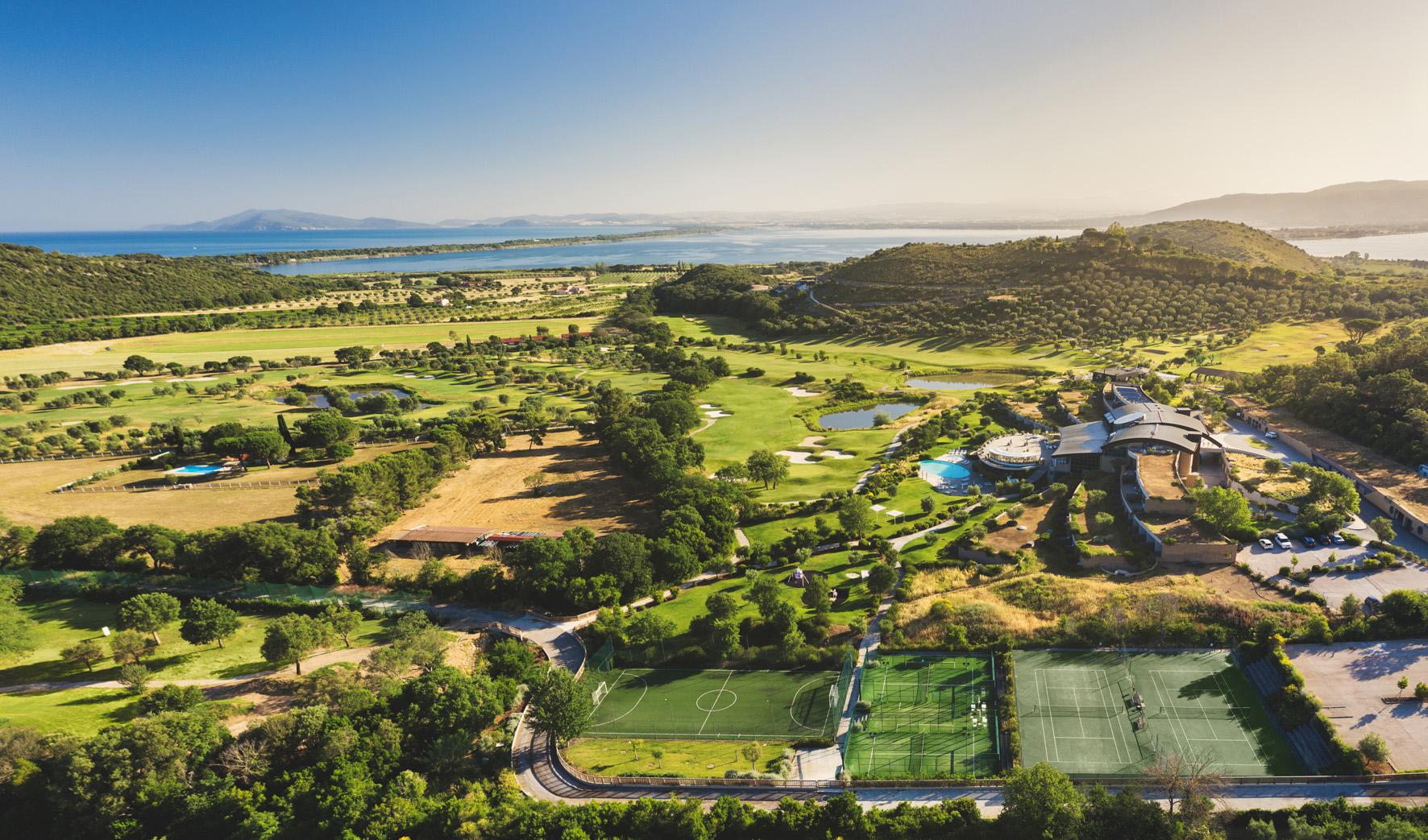 Argentario Golf Resort in Toscana