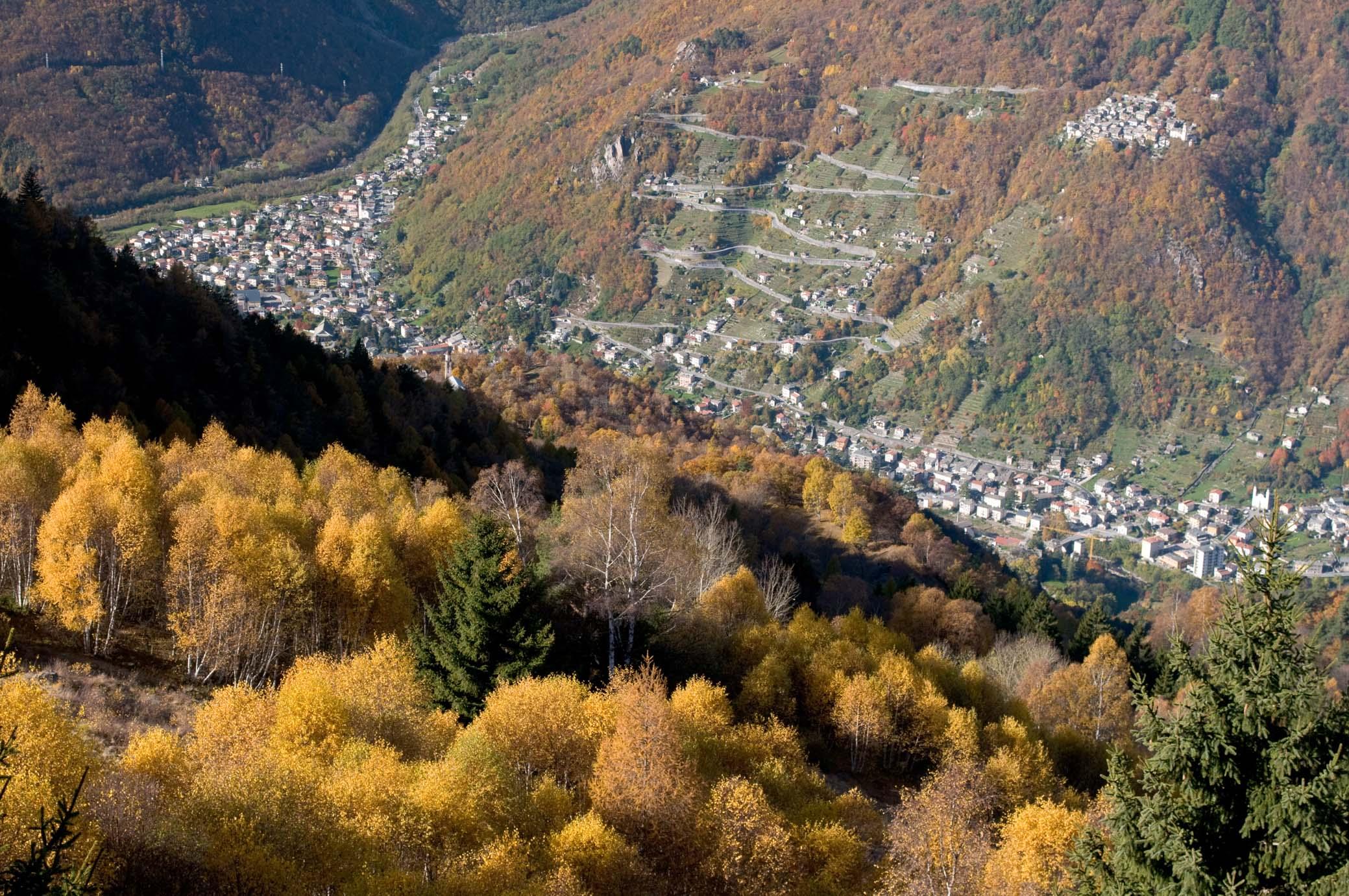Valtellina, cuore delle Alpi lombarde