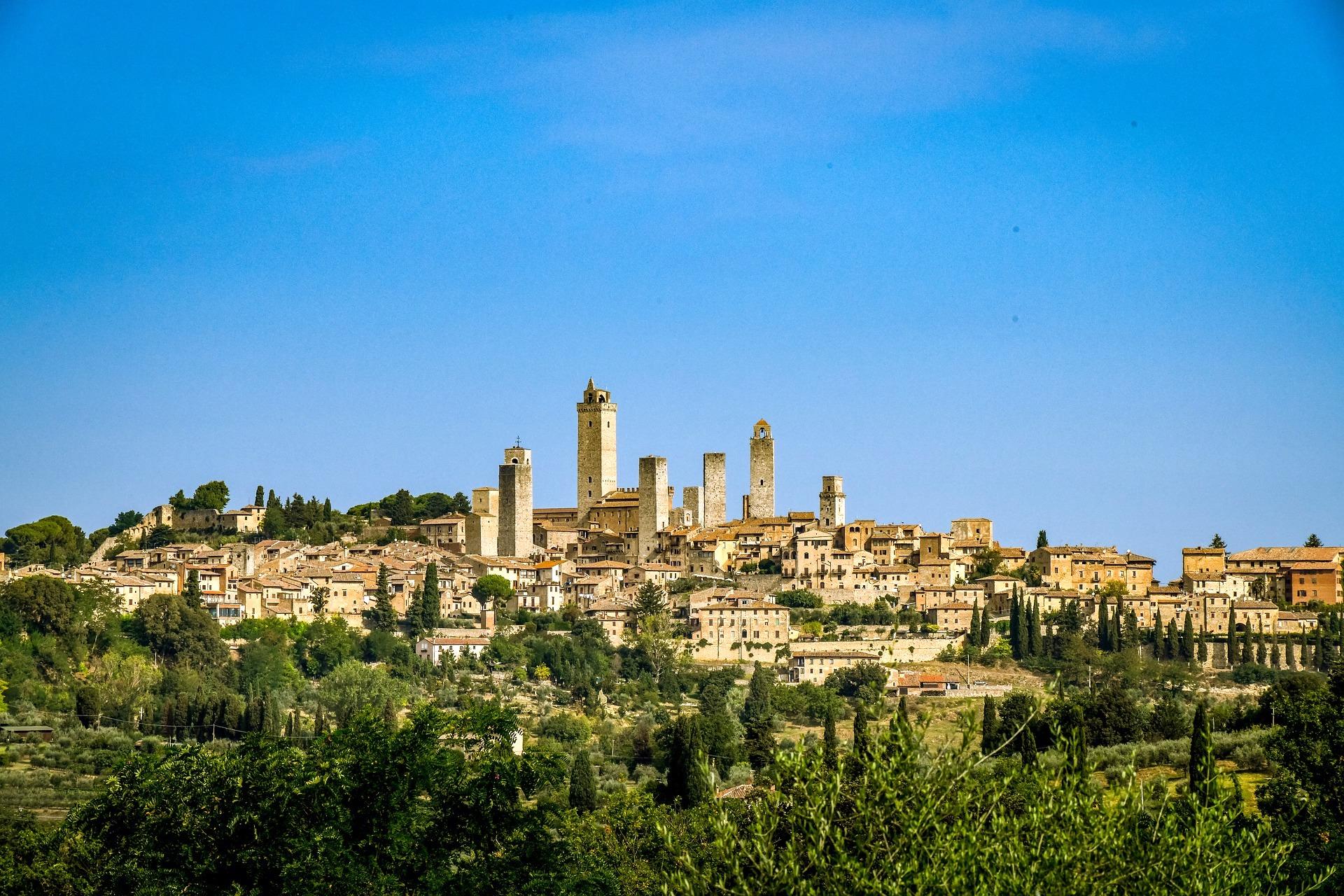 Chianti in Toscana terra di vino