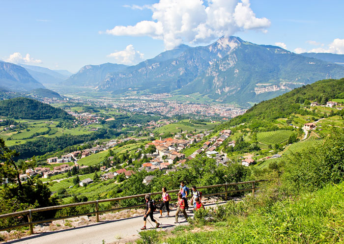 Trekking primaverili a Trento