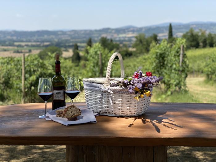 picnic al Borgobrufa